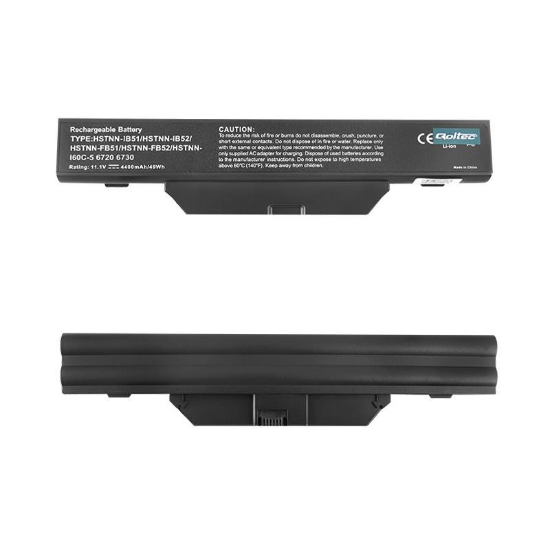 Qoltec Long Life baterie pro notebooky HP 6720, 10.8V   4400mA