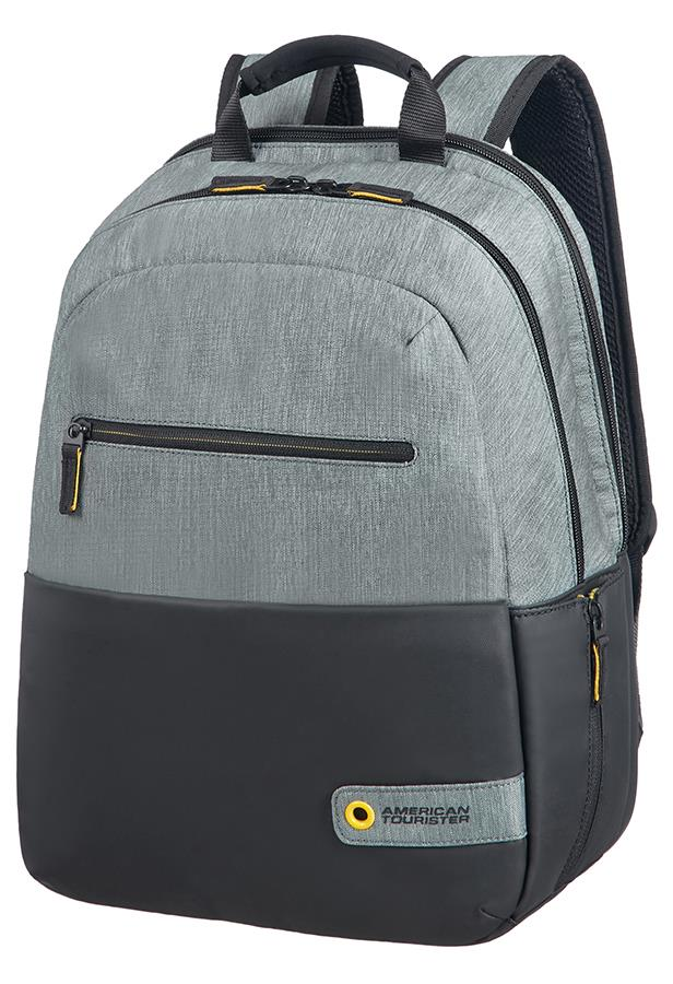 Backpack American Tourister 28G09001 CD 13,3-14,1'' comp, doc, tblt, pock, blck/