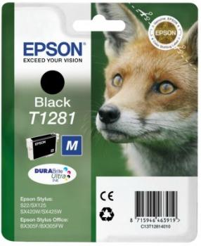 Inkoust Epson T1281 black   Stylus S22/SX125/SX425W/BX305F