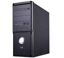 PC skříň Take Me LENS Simple, ATX midi tower, zdroj 400W, černá