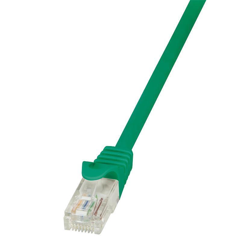 LOGILINK - Patch kabel Cat.6 U/UTP EconLine 10m zelený