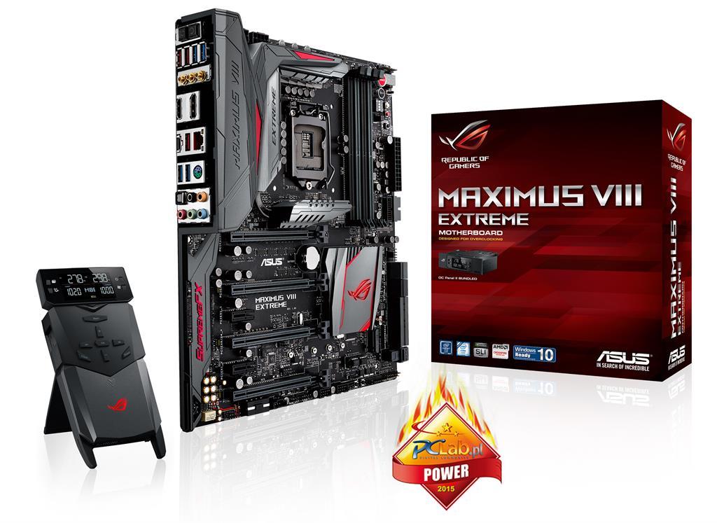 ASUS MAXIMUS VIII EXTREME, Z170, DualDDR4-2133, SATA3, SATAe, HDMI, DP, E-ATX