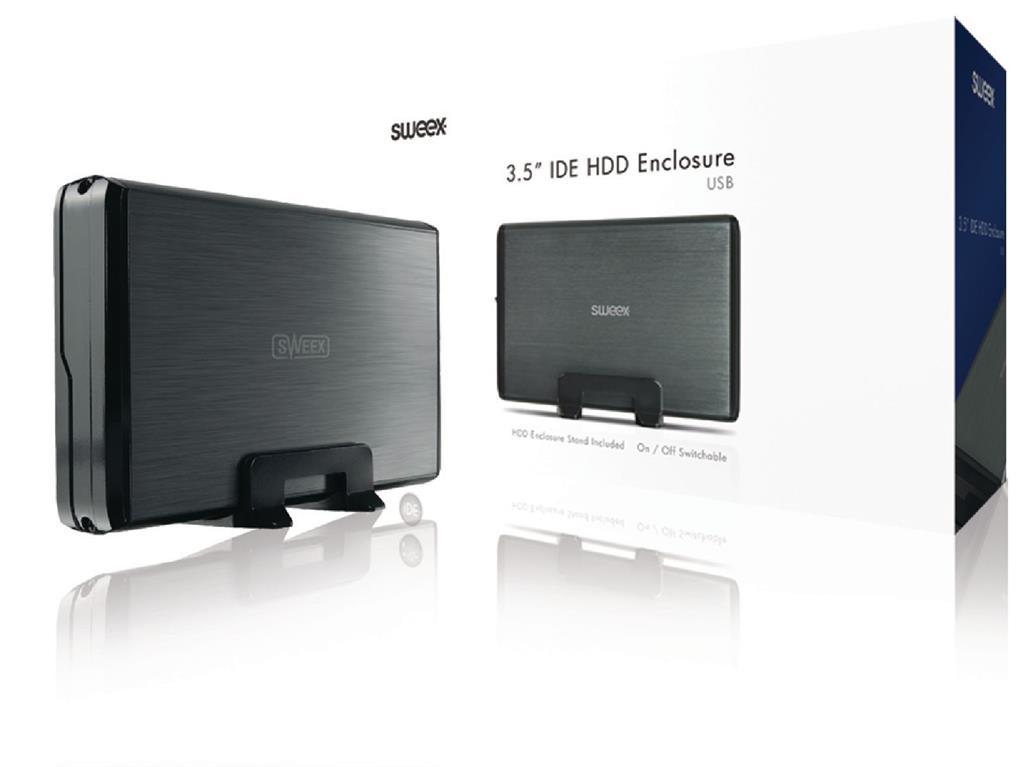 Externí box Sweex 3,5''; IDE; USB 2.0