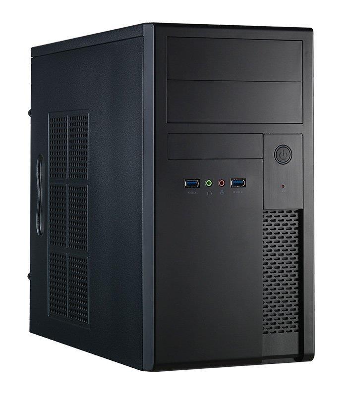 Chieftec PC skříň MESH XT-01B-400GPB, zdroj 400W (GPB-400S)