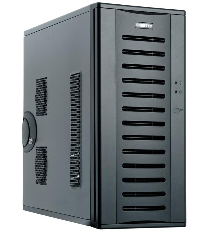Chieftec PC skříň Bravo BH-01B-U3,EATX, bez zdroje