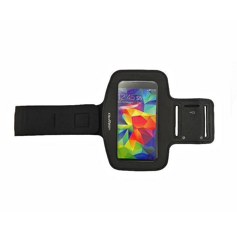 Qoltec Sportovní Armband smartphone max.5'' černá