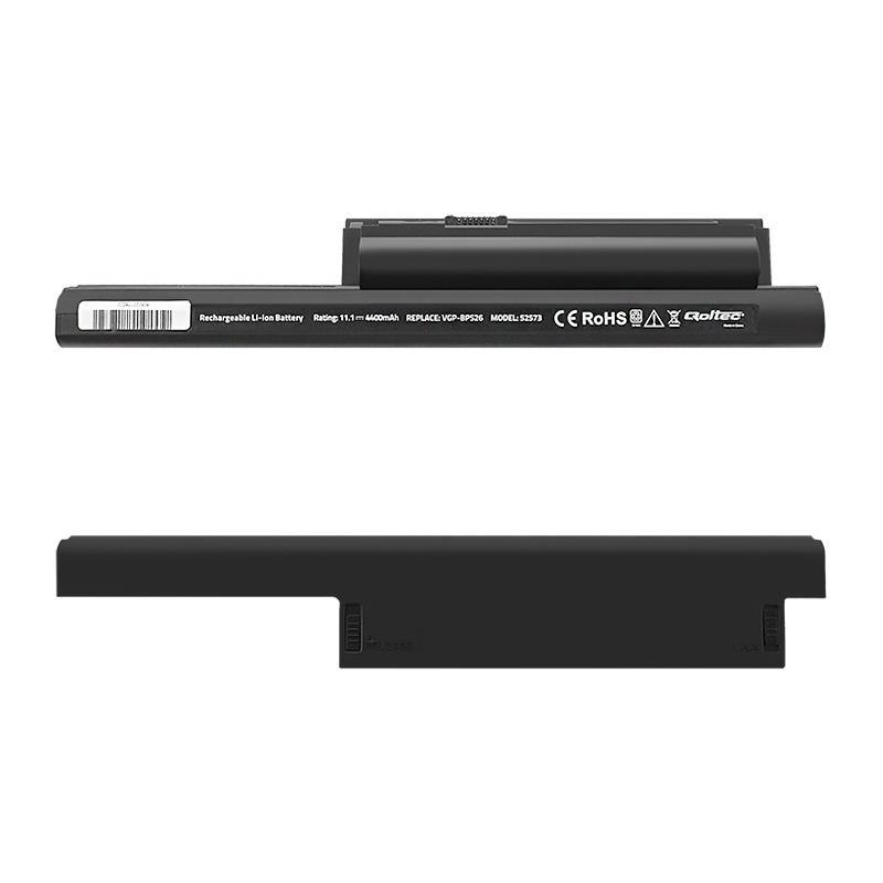 Qoltec Long Life baterie pro notebooky Sony VGP-BPS26   4400mAh   11.1V