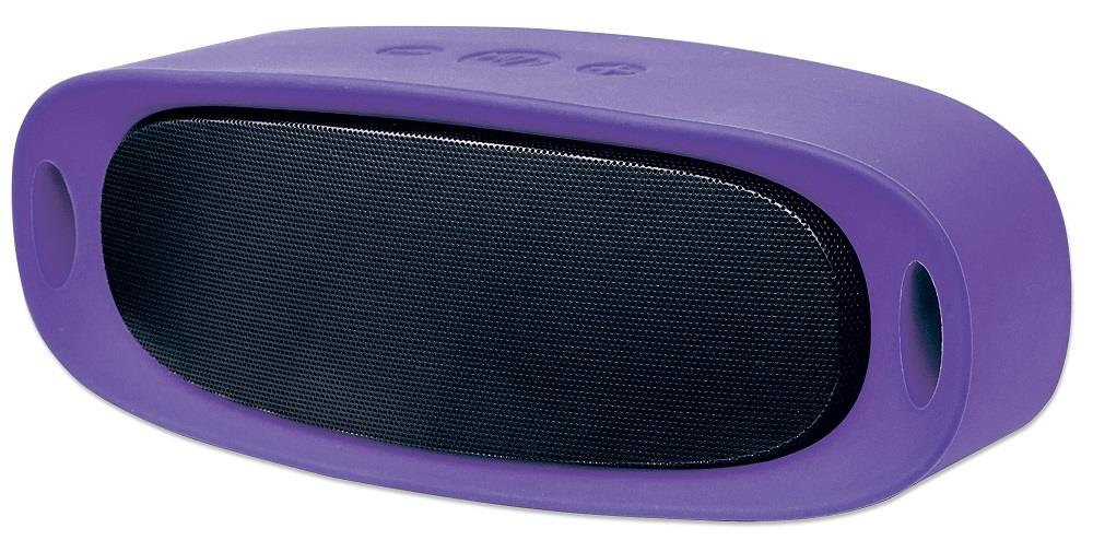 MANHATTAN Sound Science Orbit Durable Wireless Speaker PURPLE