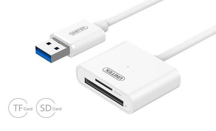 Unitek Y-9321 microSD/SD čtecka karet USB3.0