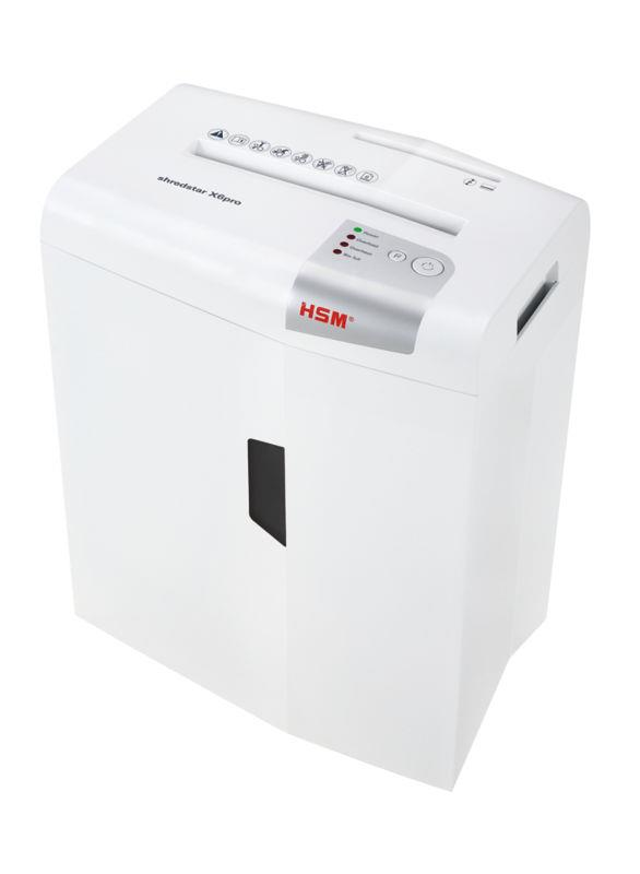 HSM Shredstar X6pro - cross cut 2x15mm/ 6 sheets 80 g/ 21 l bin/ DIN 4
