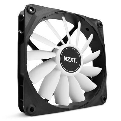 NZXT FZ Airflow Fan ventilátor LED 120x120x25mm bílý