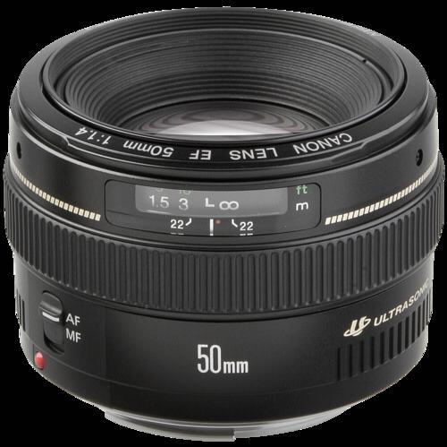 Objektiv Canon EF 50mm 1.4 USM
