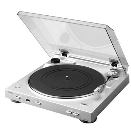 Gramofon Denon DP-200 USB premium stříbrný