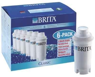 Filtr na vodu Brita Classic Pack-6