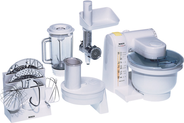 Kuchyňský robot Bosch MUM4655EU - bílá