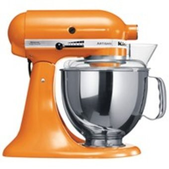 Kuchyňský robot KitchenAid KSM 150 PS ETG- oranžová