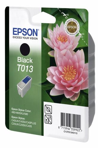 EPSON Ink ctrg černá pro SC480/580/C20/40 T0134