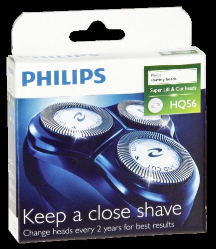 Holící frézky Philips HQ56/50, 3ks