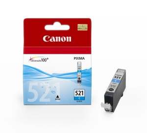 Inkoust Canon cyan | CLI521C (CLI-521C) | 9ml | iP3600/4600/4700/MP540/550/560/