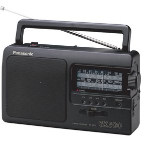 Radiopřijímač Panasonic RF-3500E9-K černá