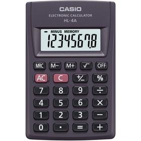 Kalkulačka Casio HL 4 A, kapesní
