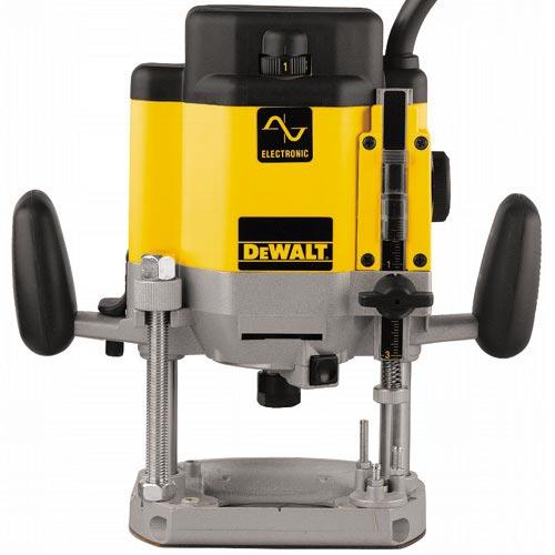 Frézka vrchní elektronická Dewalt DW625E