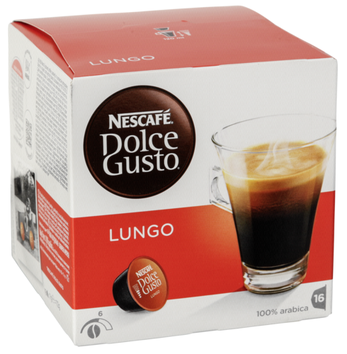 Kapsle NESCAFÉ® Dolce Gusto Caffe Lungo