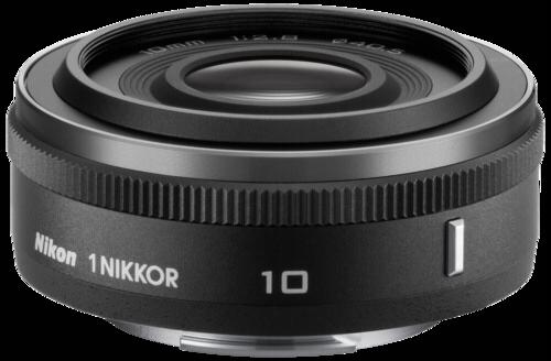 Objektiv Nikon 1 NIKKOR 2,8/10 mm černý