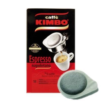 Kapsle Kimbo Espresso Napoletano ESE 18ks