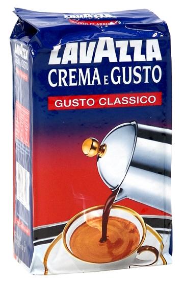Káva Lavazza Crema e Gusto 250g, mletá