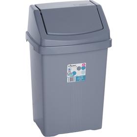 Koš odpadkový Wham 11745 15L stříbrný