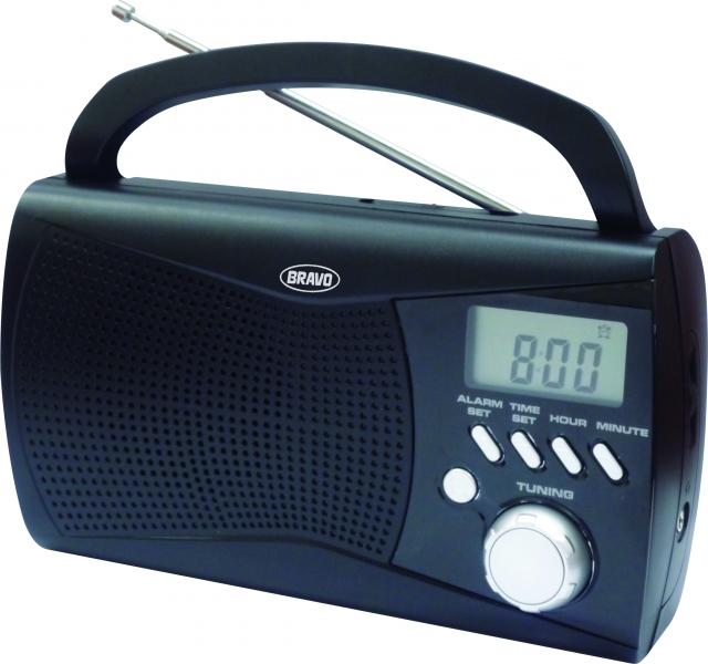 Rádio přenosné Bravo B 6010 černé