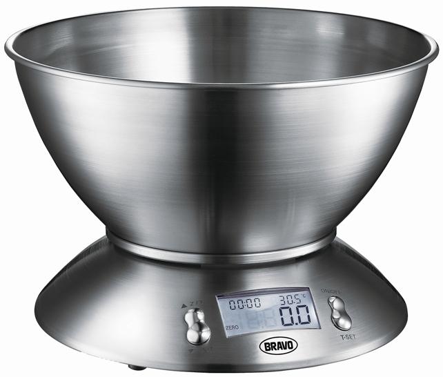 Váha kuchyňská Bravo B 5074 nerez s miskou
