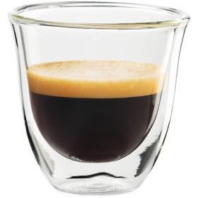 Sklenice DeLonghi Espresso 60 ml 2ks