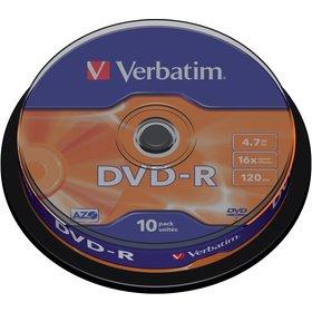 DVD-R 4,7GB 16x 10SP VERBATIM