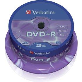 DVD+R 4,7GB 16x 25SP VERBATIM