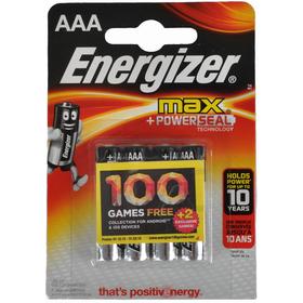 Baterie Energizer LR03/4 4xAAA