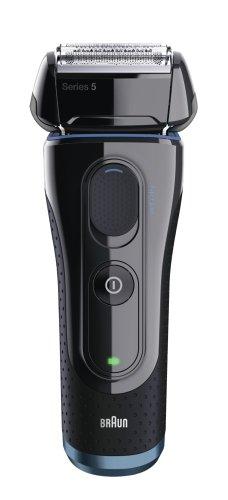 Holící strojek Braun Series 5 5040 S černý-modrý