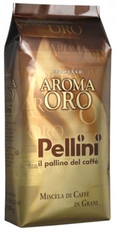 Káva zrnková Pellini Oro 1kg