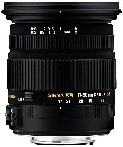 Objektiv Sigma 17-50/2.8 EX DC OS HSM pro Canon