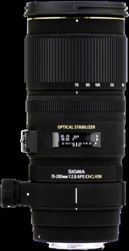 Objektiv Sigma EX 2,8/70-200 DG OS HSM Nikon