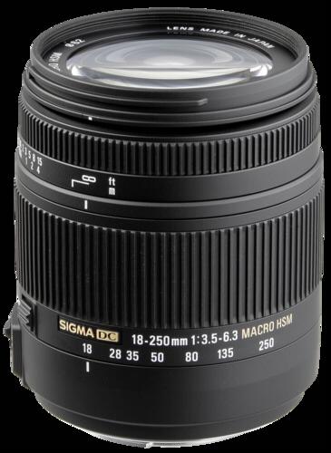 Objektiv Sigma 18-250 mm 3,5-6,3 DC Makro OS pro Canon