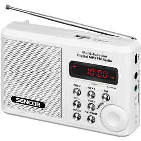 Radiopřijímač Sencor SRD 215 W
