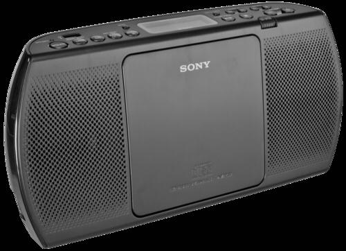 Rádio Sony ZS-PE40CPB černé