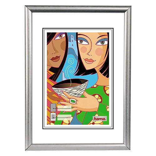Hama rámček plastový MADRID, strieborný matný, 15x20 cm