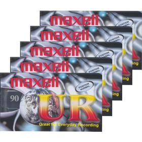 Audiokazeta Maxell UR 90 5ks