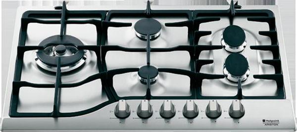 Varná deska plyn. Ariston PH 760 RF GH