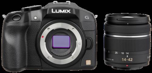 Fotoaparát Panasonic DMC-G6K EG-K černý + 14-42
