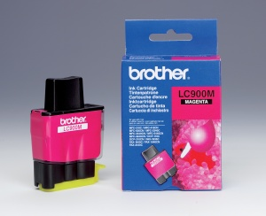 Brother LC-900M - inkoust magenta