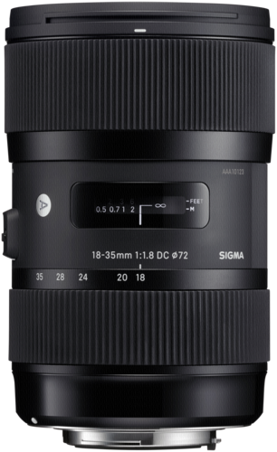 SIGMA 18-35/1.8 DC HSM Canon (řada ART)